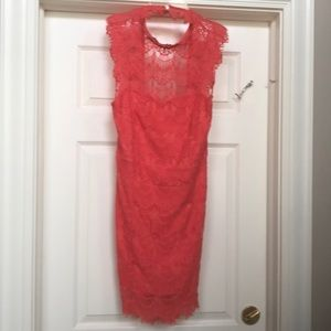 FREE PEOPLE size Large lace backless dress